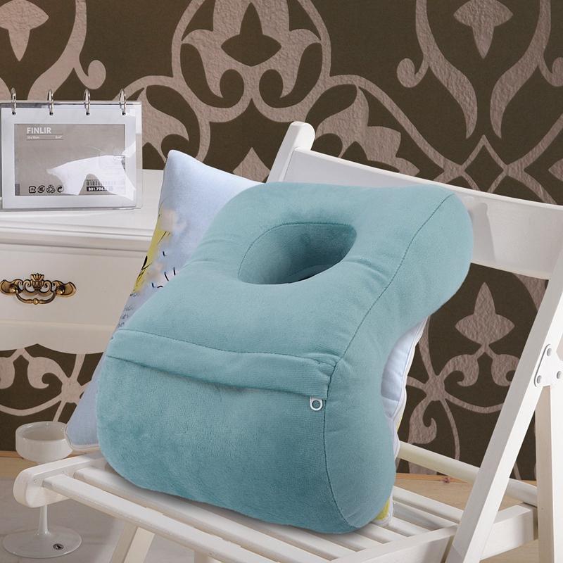 U-Shaped-Desk-Nap-Pillow-Neck-Supporter-Seat-Cushion-Headrest-Travel-Neck-P-O5S1 thumbnail 18