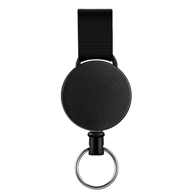Set of 4 pcs Retractable Reel Badge holder YOYO C Snap Button ID Card Key R7Z2