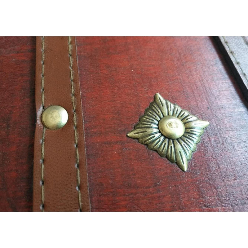 3X-Retro-Schatzkiste-mit-Schloss-Vintage-Holz-Aufbewahrungsbox-Antik-Stil-SH3A2 Indexbild 7