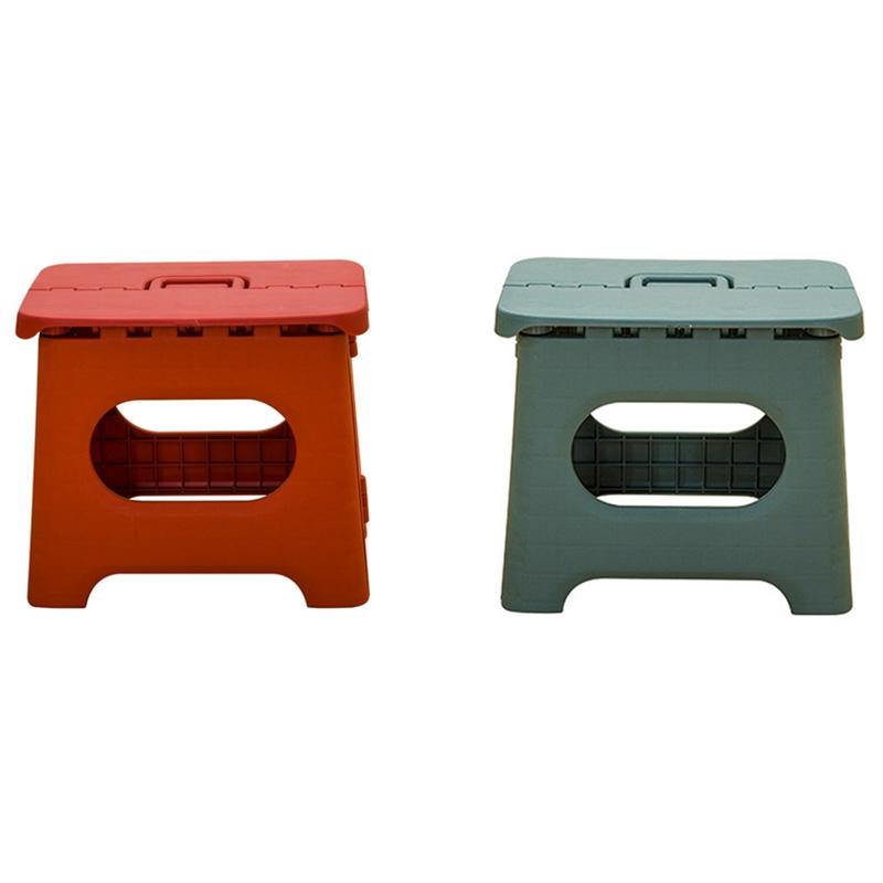 Taburete-Plegable-PortaTil-Hogar-Color-SoLido-Taburete-PequenO-Cuarto-de-Du-Z1A5 miniatura 6