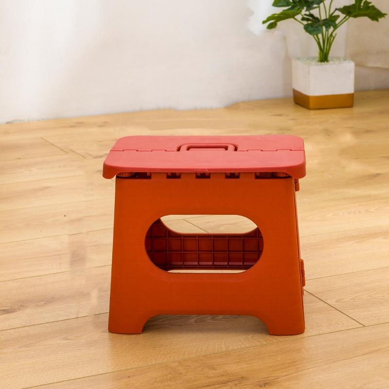 Taburete-Plegable-PortaTil-Hogar-Color-SoLido-Taburete-PequenO-Cuarto-de-Du-Z1A5 miniatura 8
