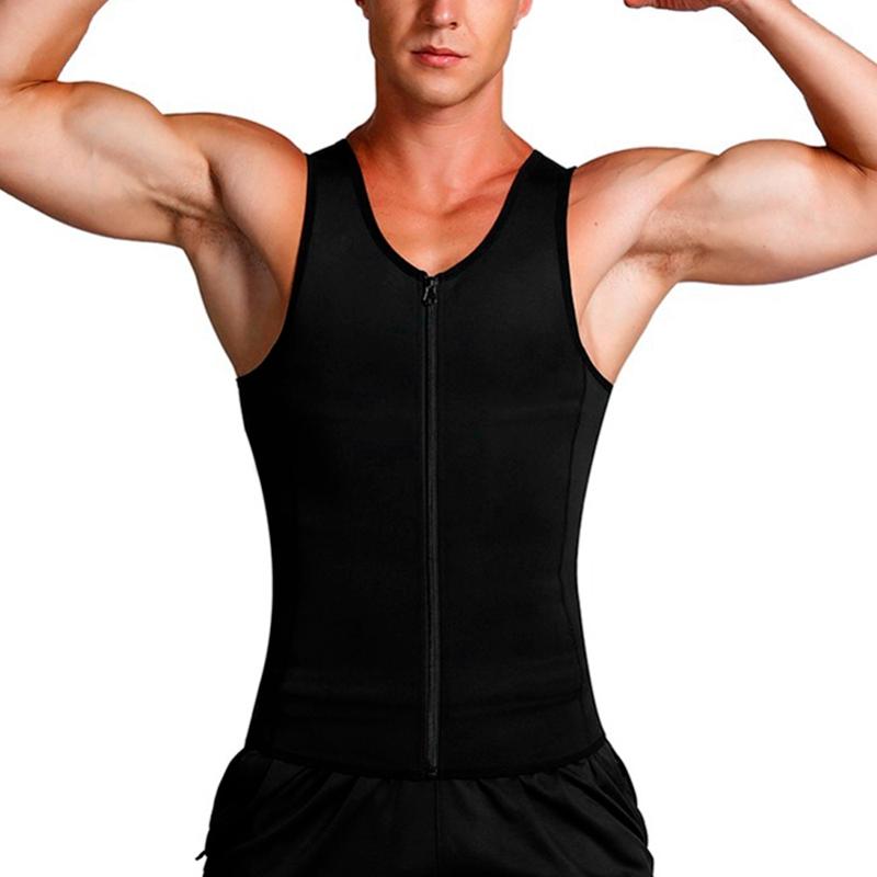 Man-Shaper-Male-Waist-Trainer-Cincher-Corset-Men-Body-Modeling-Belt-Tummy-S-T9I7 thumbnail 4
