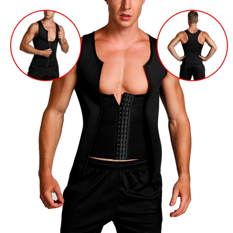 Man-Shaper-Male-Waist-Trainer-Cincher-Corset-Men-Body-Modeling-Belt-Tummy-S-T9I7 thumbnail 6