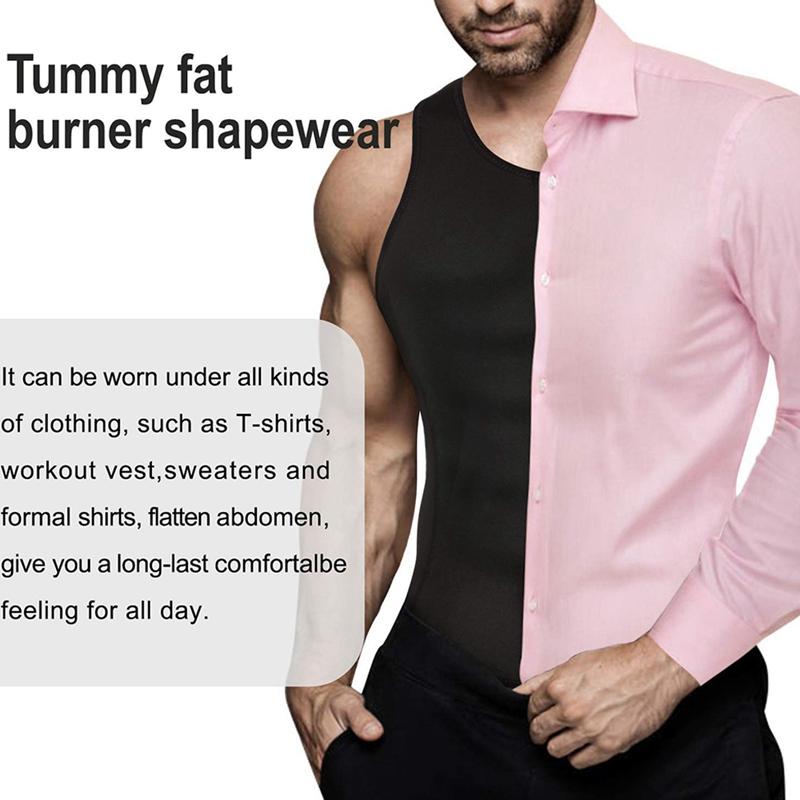 Man-Shaper-Male-Waist-Trainer-Cincher-Corset-Men-Body-Modeling-Belt-Tummy-S-T9I7 thumbnail 7
