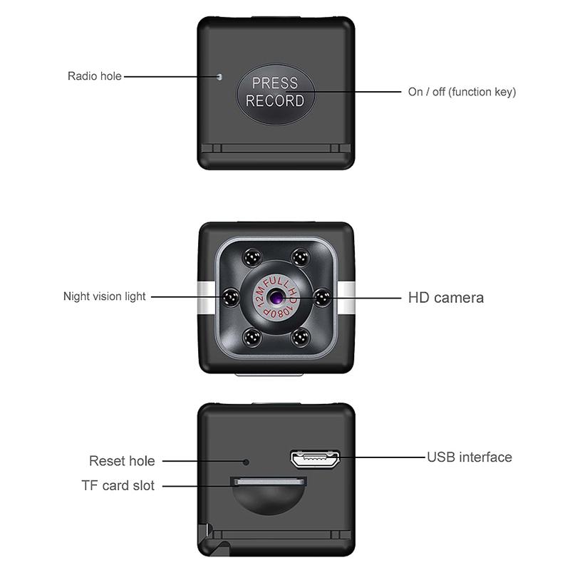 FX02-Mini-CameRa-Full-HD-1080P-CameScope-Vision-Nocturne-DeTection-de-Mouve-W4T2 miniature 6