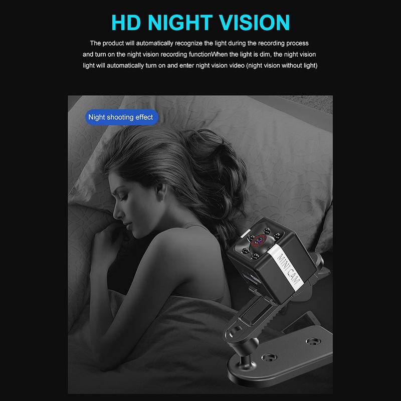 FX02-Mini-CameRa-Full-HD-1080P-CameScope-Vision-Nocturne-DeTection-de-Mouve-W4T2 miniature 11