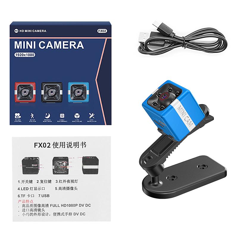 FX02-Mini-CameRa-Full-HD-1080P-CameScope-Vision-Nocturne-DeTection-de-Mouve-W4T2 miniature 31