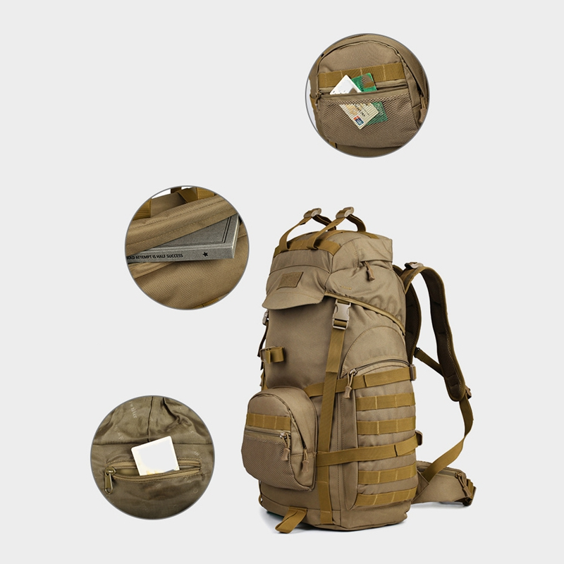 2X-Mountaineering-Sports-Backpack-Backpack-Backpack-Camping-Hiking-Outdoor-M3W2 thumbnail 17