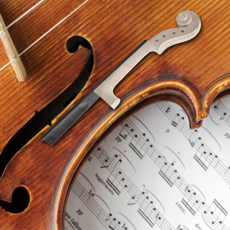 4//4 GrößE Ahorn Violine Hals Eben Holz Griff Brett Violine DIY Kit mit Hand i98