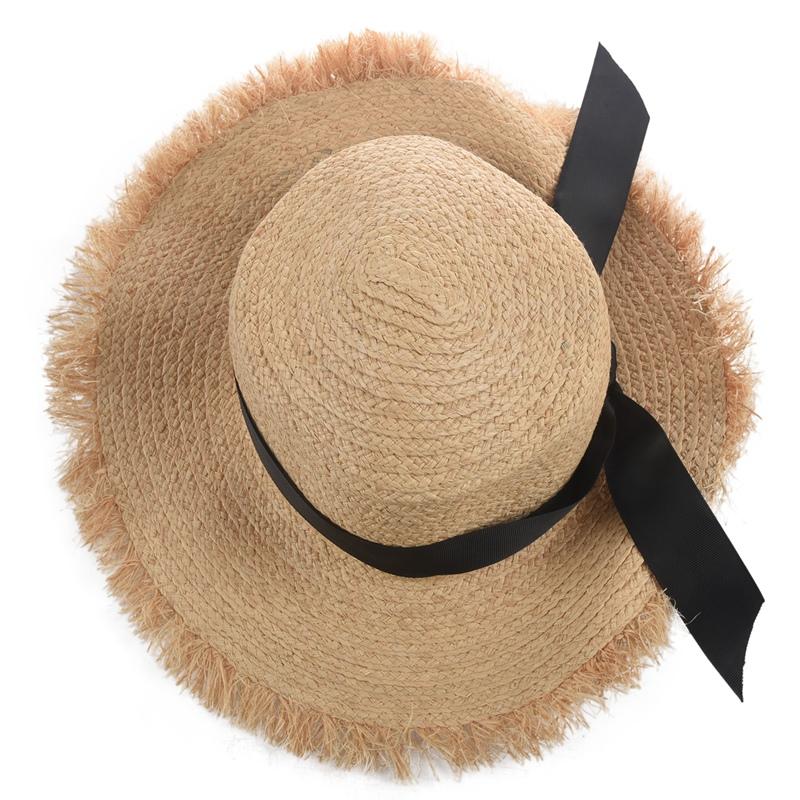 Cappello-Estivo-da-Spiaggia-da-Spiaggia-Cappello-da-Fiocco-Cappello-nel-Raf-K9V3 miniatura 13