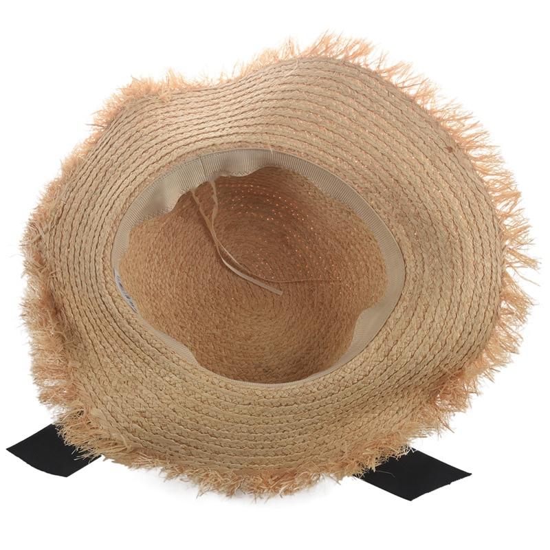 Cappello-Estivo-da-Spiaggia-da-Spiaggia-Cappello-da-Fiocco-Cappello-nel-Raf-K9V3 miniatura 16
