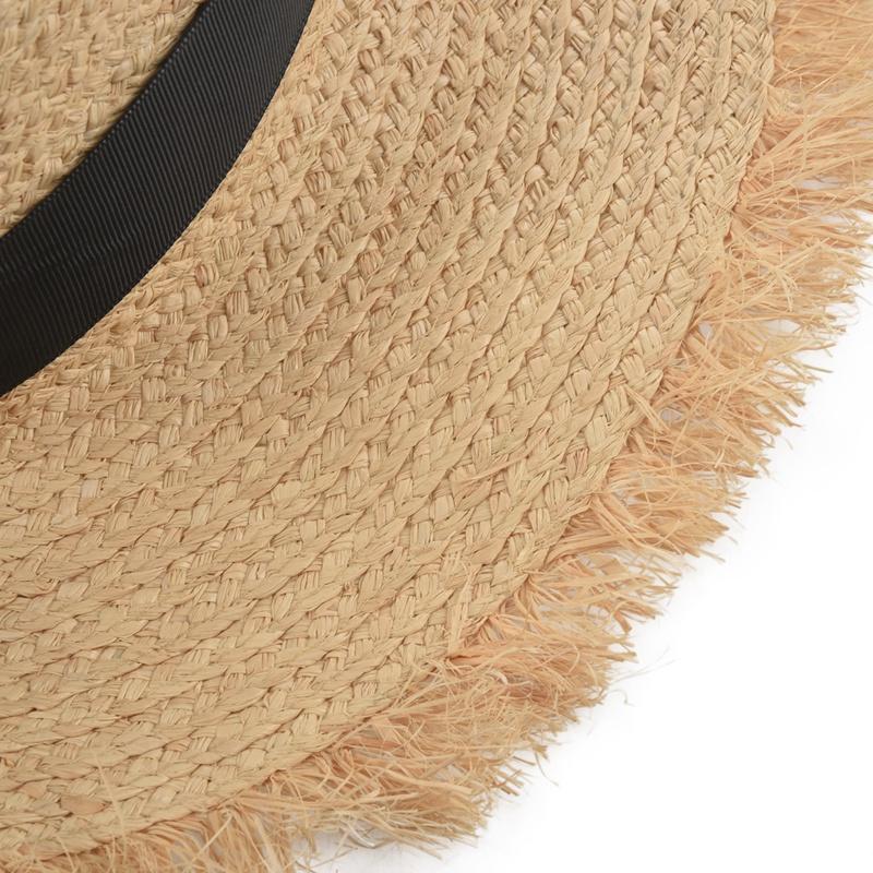 Cappello-Estivo-da-Spiaggia-da-Spiaggia-Cappello-da-Fiocco-Cappello-nel-Raf-K9V3 miniatura 17