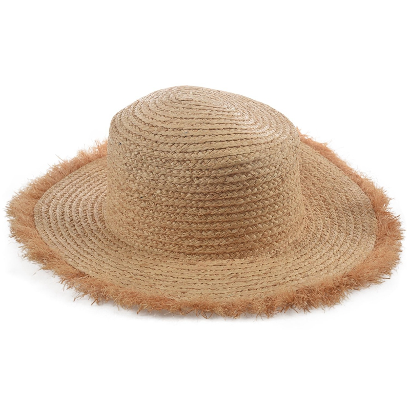 Cappello-Estivo-da-Spiaggia-da-Spiaggia-Cappello-da-Fiocco-Cappello-nel-Raf-K9V3 miniatura 6