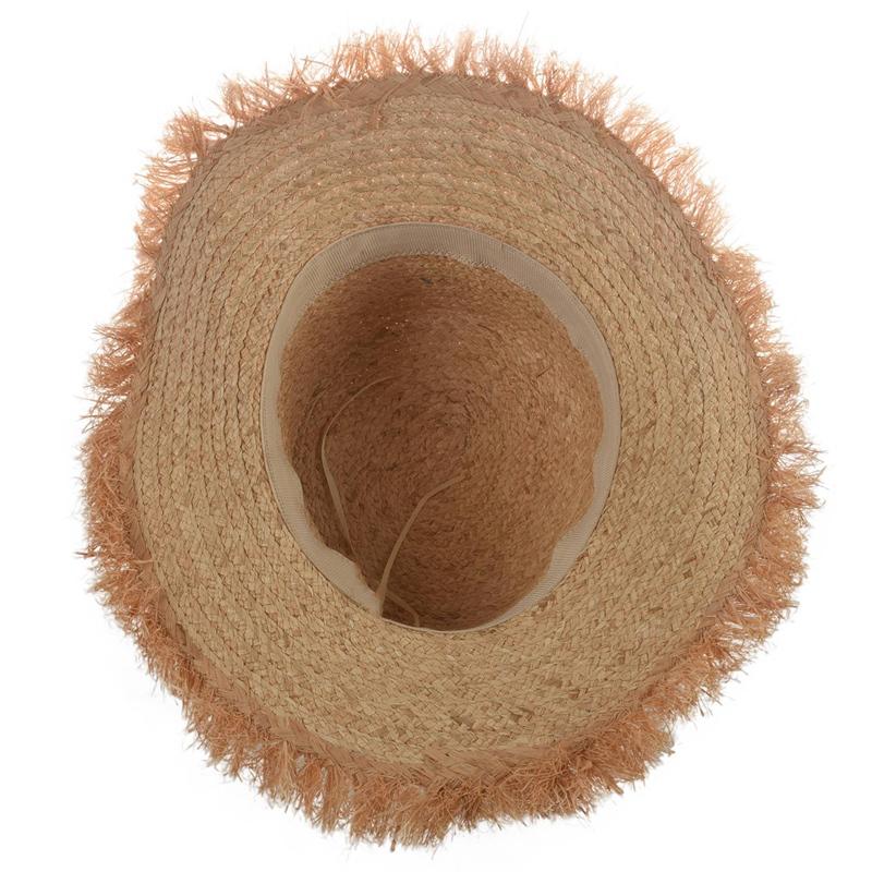 Cappello-Estivo-da-Spiaggia-da-Spiaggia-Cappello-da-Fiocco-Cappello-nel-Raf-K9V3 miniatura 8