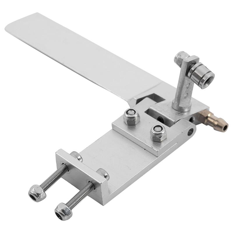1X-Timon-Del-Barco-Rc-Largo-De-Aluminio-Con-La-Direccion-De-Absorcion-De-La-R8L6 miniatura 6