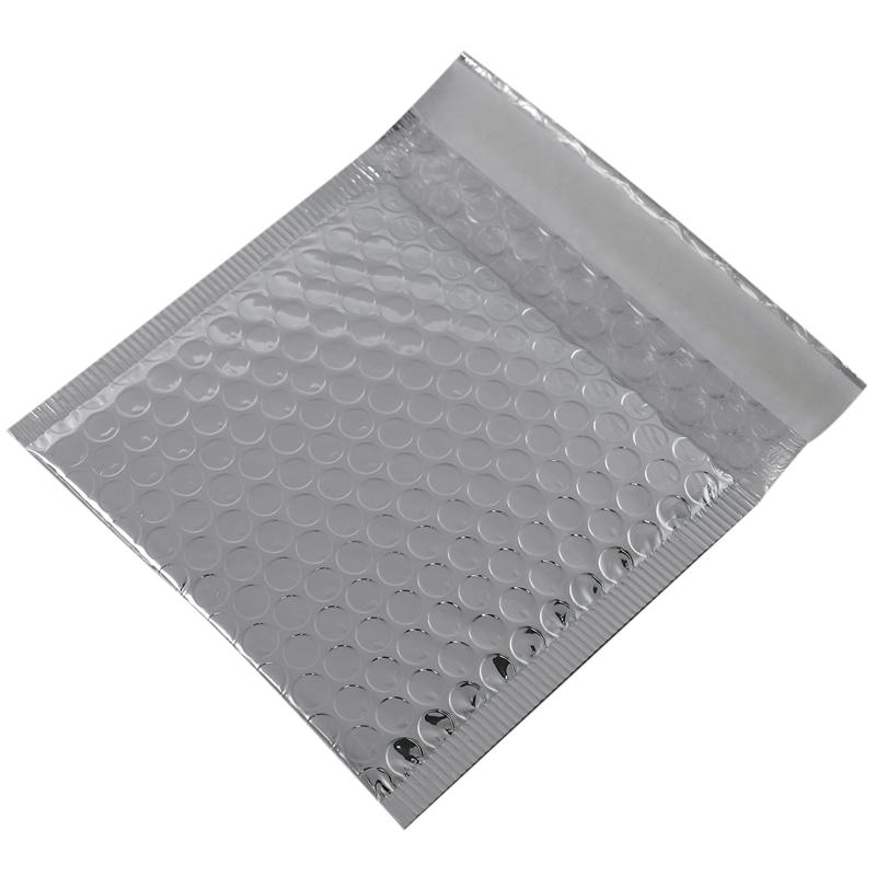 50Pc Verpackung Versand Blase Mailer Gold Papier GefüLlte UmschläGe Geschen E4P9