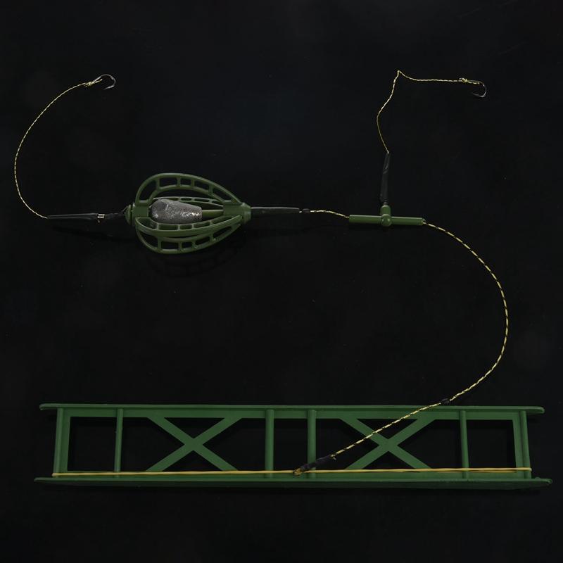 Indexbild 6 - Angeln Kunstköder Köder KäFig Feeder Basket Karpfenangeln mit Blei Platine  I8C7