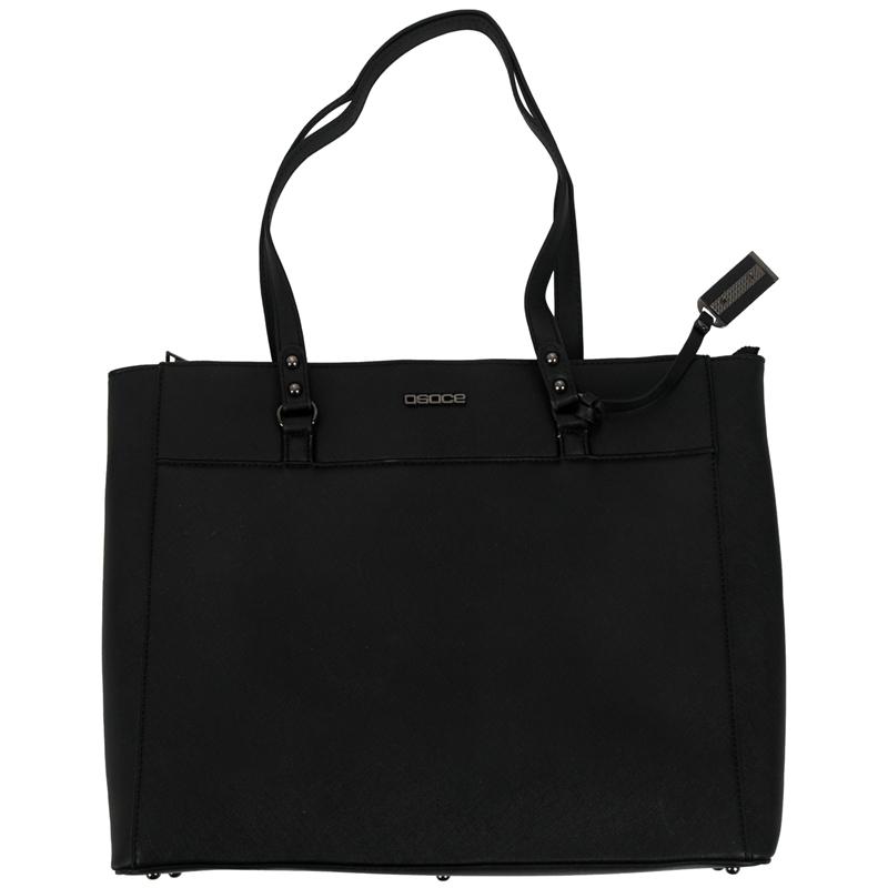 2X-OSOCE-Aktentasche-15-6-Zoll-Laptop-Tasche-Wasserdichte-Hand-Tasche-SchutC1T8