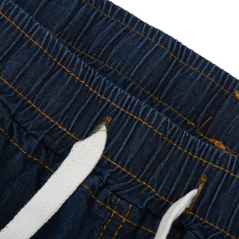 1X-Frauen-Retro-Laessig-Jogging-Hosen-Kordelzug-Elastische-Taille-Jeans-Dame-O9W1 Indexbild 7