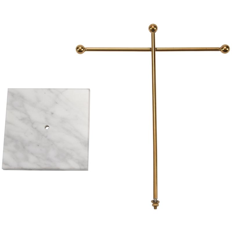 Indexbild 5 - Nordic Metall Golden Lagerregal mit Marmorsockel Chic Ins Moderner Schmuck  H3H7