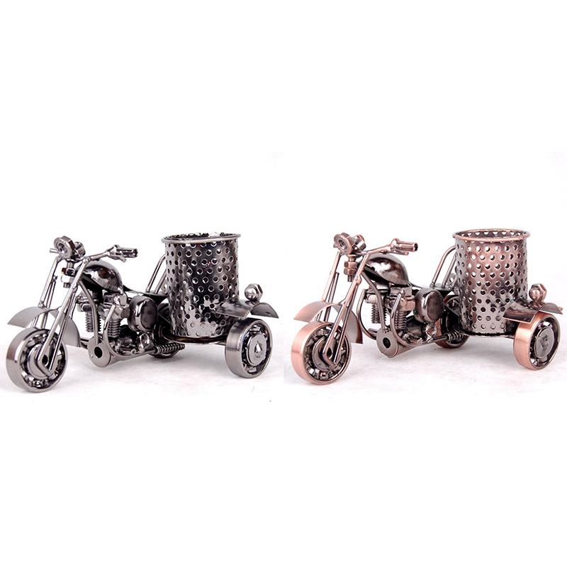 Manualidades de Metal Adornos de Oficina Modelo de Motocicleta de Moda X6W7
