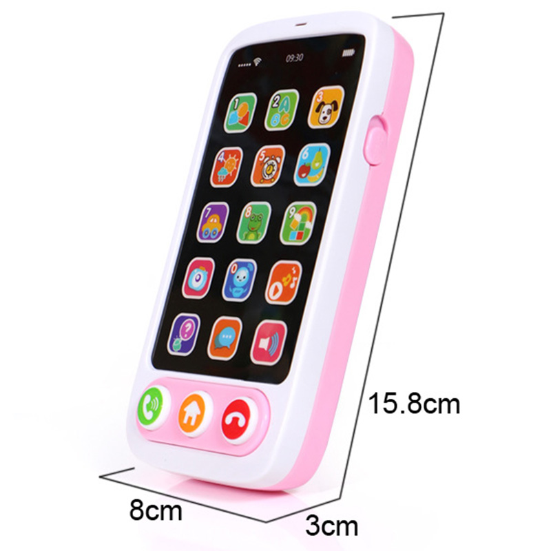 Children-Simulation-Baby-Mobile-Phone-Toy-Luminous-and-Musical-Phone-Toy-EaN6A6 thumbnail 3