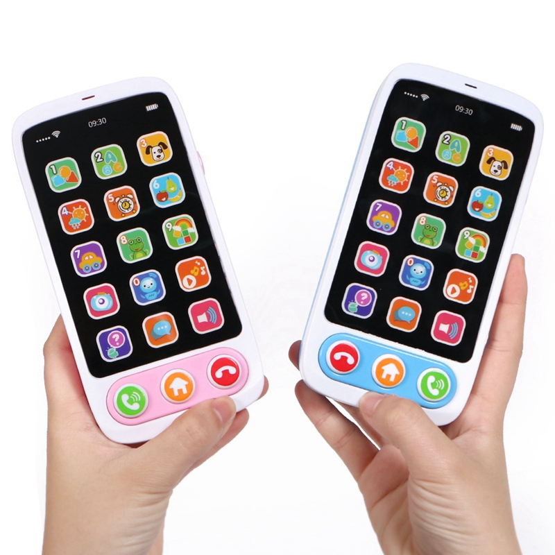 Children-Simulation-Baby-Mobile-Phone-Toy-Luminous-and-Musical-Phone-Toy-EaN6A6 thumbnail 4