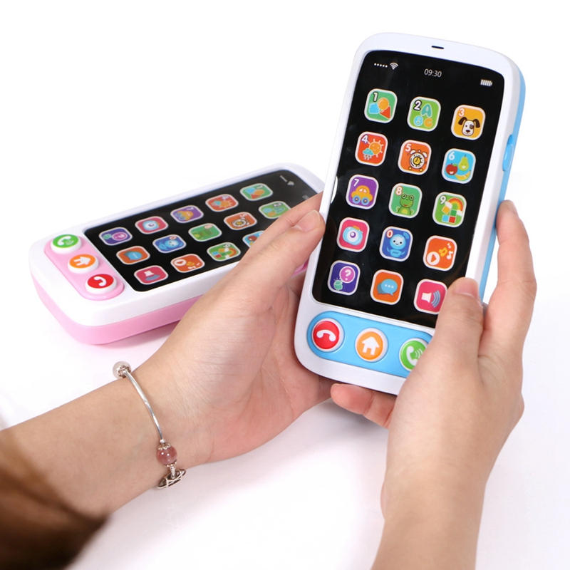 Children-Simulation-Baby-Mobile-Phone-Toy-Luminous-and-Musical-Phone-Toy-EaN6A6 thumbnail 6