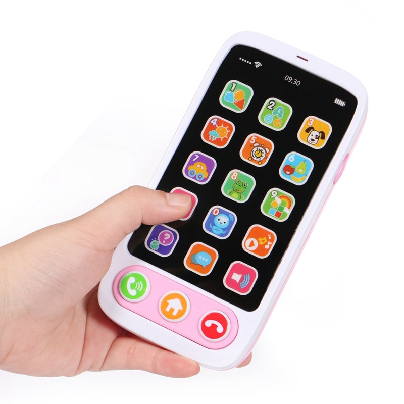 Children-Simulation-Baby-Mobile-Phone-Toy-Luminous-and-Musical-Phone-Toy-EaN6A6 thumbnail 7