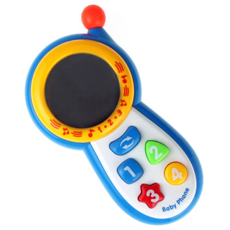 Bebe-TeleFono-Musical-Juguete-NinOs-Juguetes-Educativos-Infantil-TeleFono-M-J1O6 miniatura 4