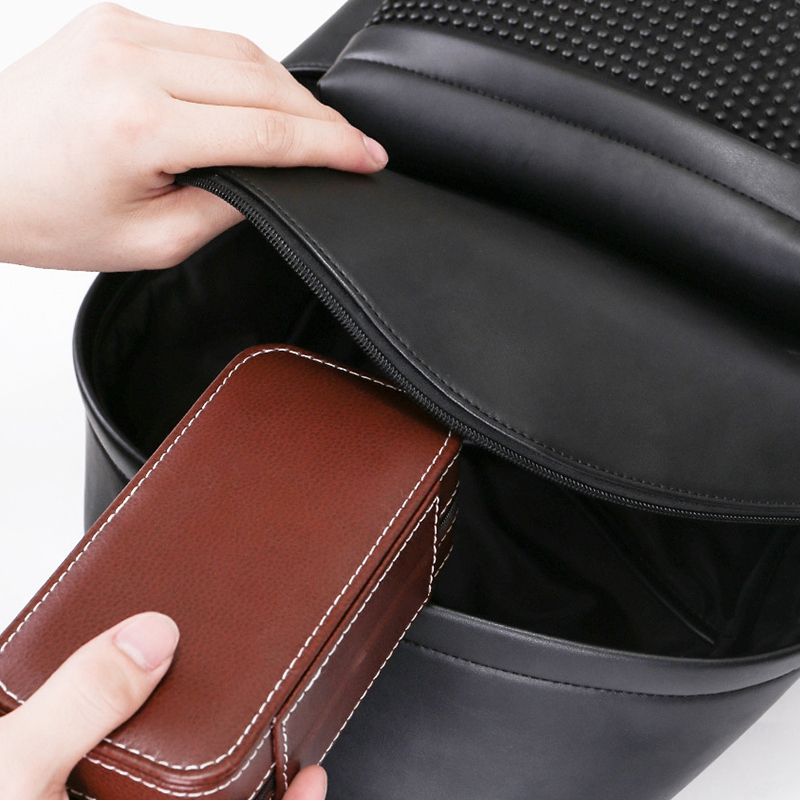 Tragbare-Schmuck-Verpackung-Aufbewahrungsbox-Halskette-Armband-Ohrring-Uhr-T-rvg Indexbild 5