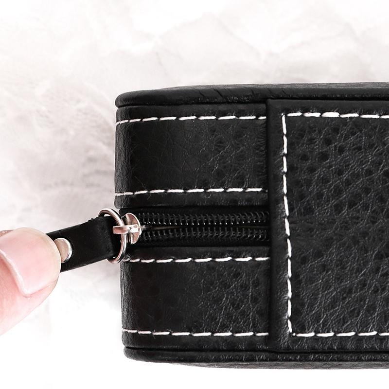Tragbare-Schmuck-Verpackung-Aufbewahrungsbox-Halskette-Armband-Ohrring-Uhr-T-rvg Indexbild 11
