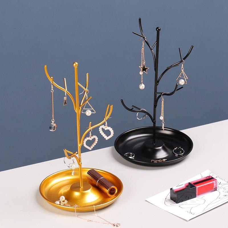 Indexbild 5 - Schmuck Display Stand Rack BaumstäNder Eisen Halskette Ohrring Halter Armba U4Z3
