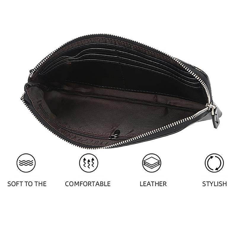 1X-Baellerry-Brieftaschen-mit-Handytasche-Lange-GeldboeRsen-fuer-MaeNner-FraueA1M7 Indexbild 5
