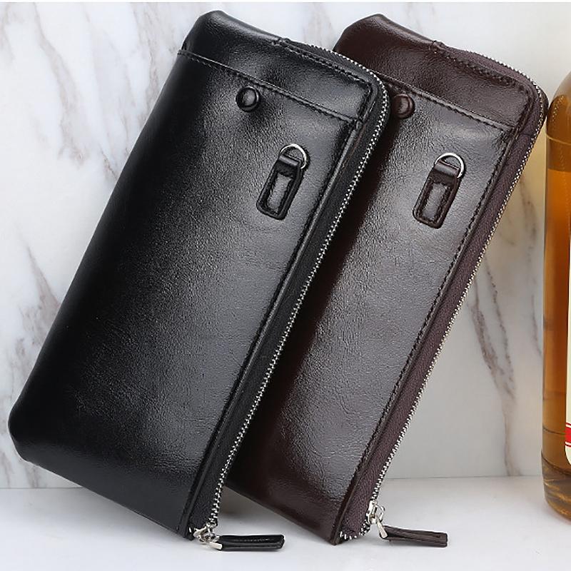 1X-Baellerry-Brieftaschen-mit-Handytasche-Lange-GeldboeRsen-fuer-MaeNner-FraueA1M7 Indexbild 9