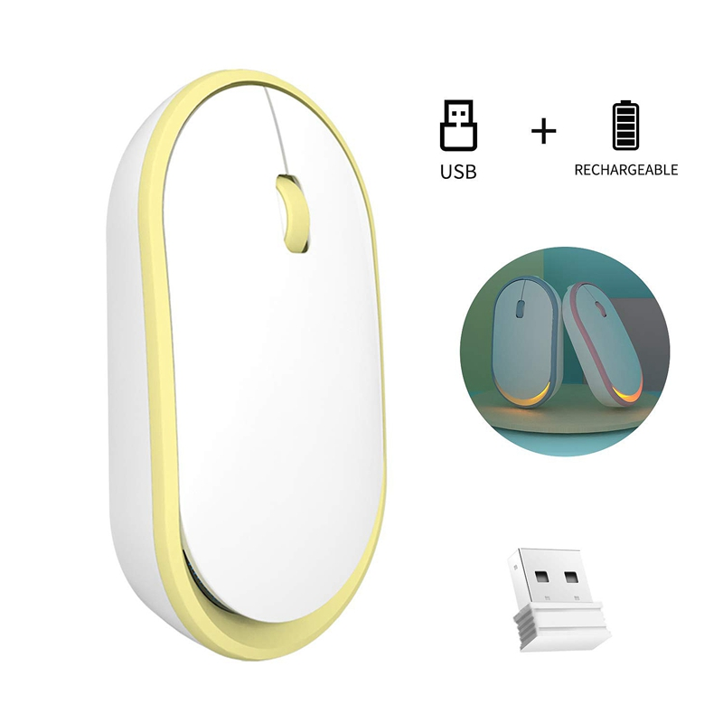 Ultra-Thin-Rechargeable-Wireless-Mouse-Girl-Cute-Mute-USB-Mouse-with-Low-Noise thumbnail 19