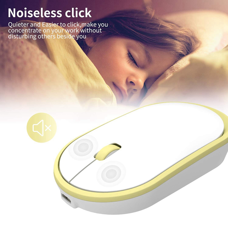 Ultra-Thin-Rechargeable-Wireless-Mouse-Girl-Cute-Mute-USB-Mouse-with-Low-Noise thumbnail 21