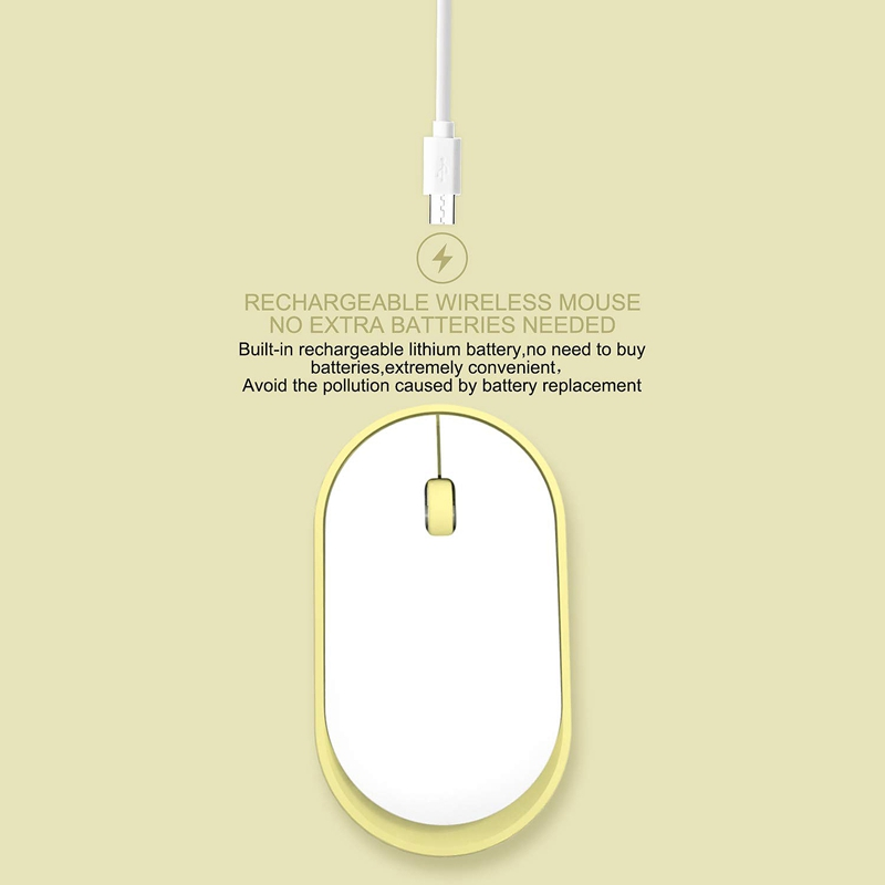 Ultra-Thin-Rechargeable-Wireless-Mouse-Girl-Cute-Mute-USB-Mouse-with-Low-Noise thumbnail 24