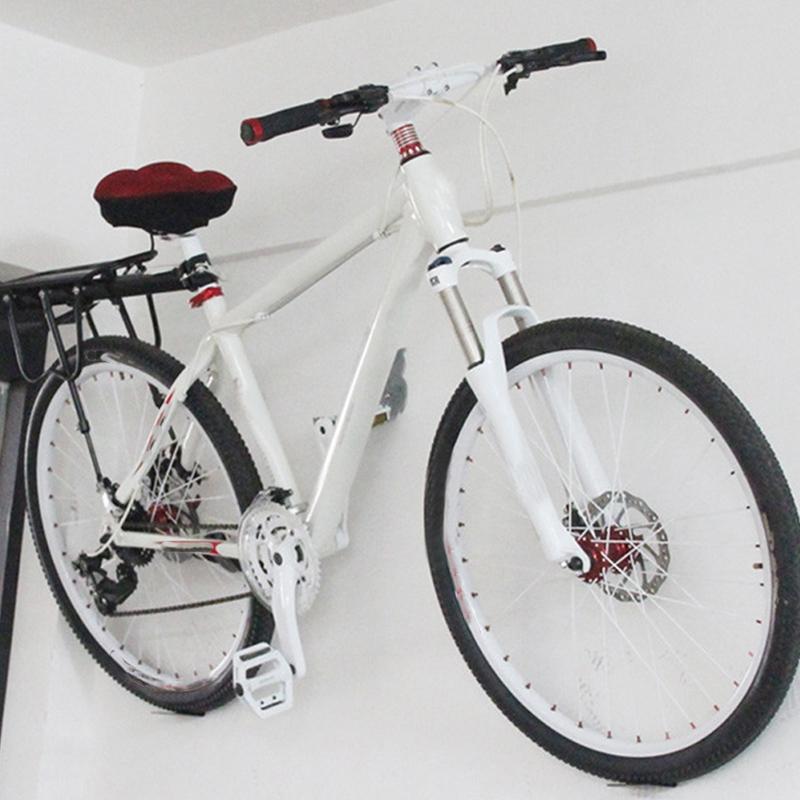 MTB Road Bicycle Parking Racks Bike Wall Mount Bracket Kickstand Buckle Mo X7K5