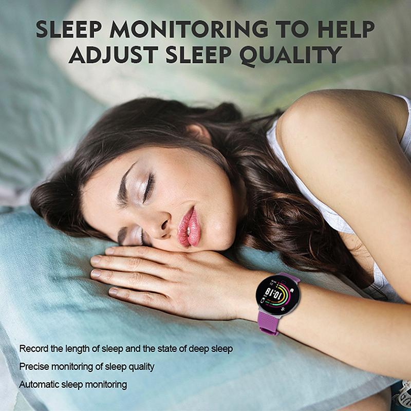 Reloj-Inteligente-D19-Frecuencia-CardiAca-PresioN-Arterial-Salud-Reloj-Smar-I4R1 miniatura 6