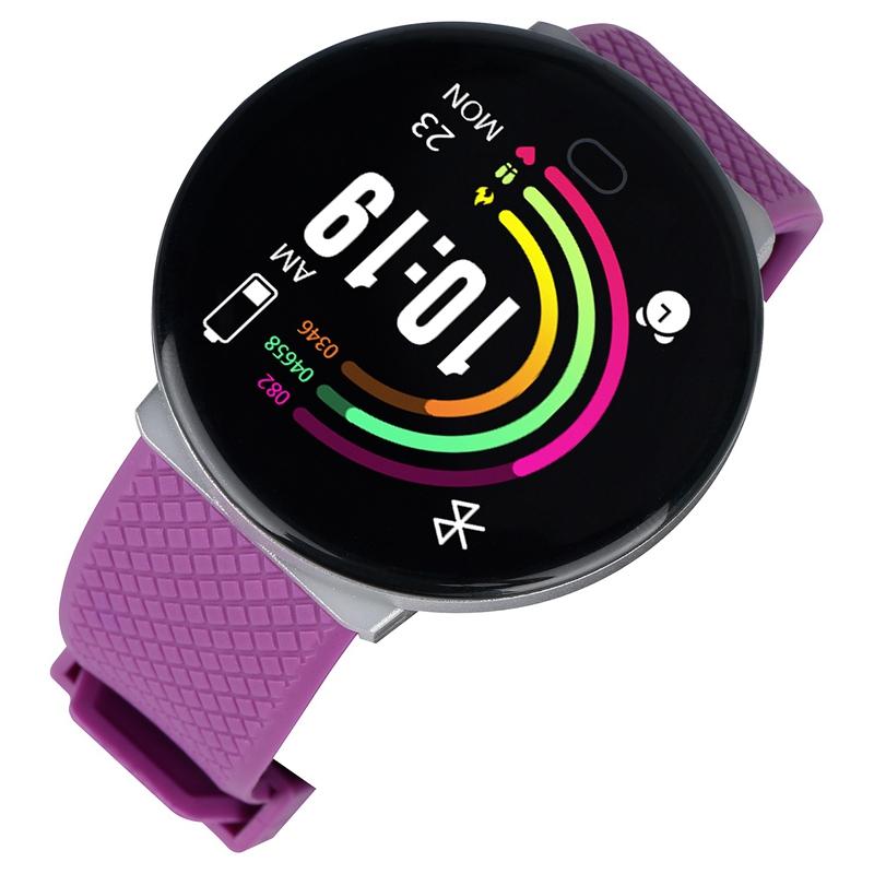 Reloj-Inteligente-D19-Frecuencia-CardiAca-PresioN-Arterial-Salud-Reloj-Smar-I4R1 miniatura 12