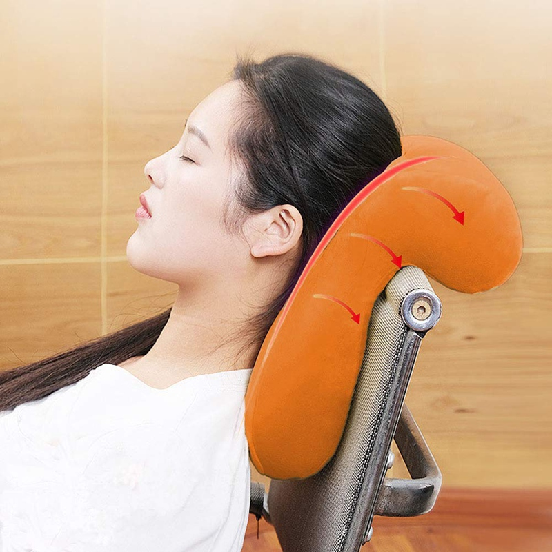 New Memory PP Cotton Office Noon Nap Pillow Breathable ...