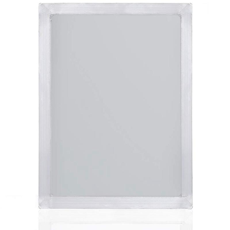 """11x14 /"""" 120 Weißer Siebdruck Aluminiumrahmen Hochwertiges Netz"""