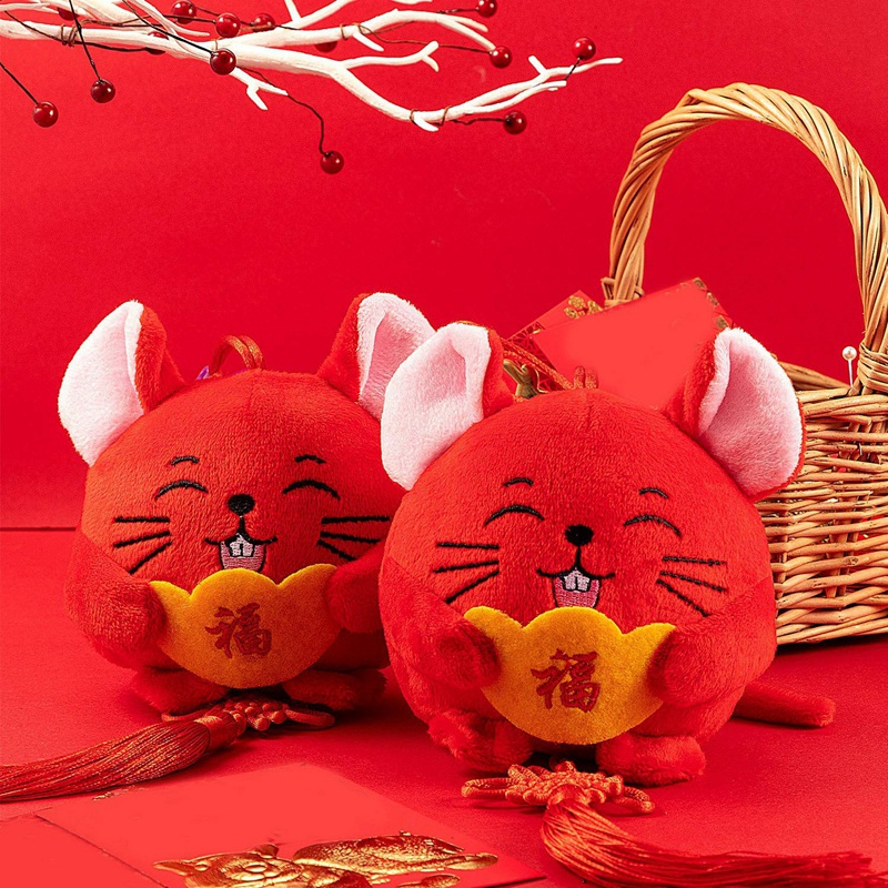New Year Rat Ornament Decorations Chinese New Year of Rat ...