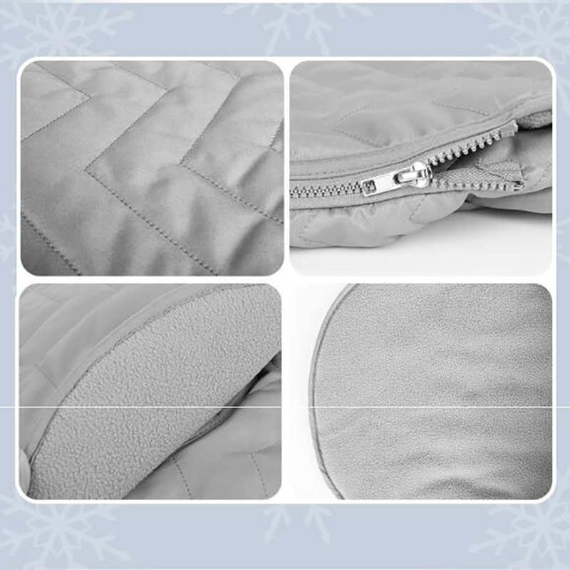 thumbnail 11 - 1X(Newborn Baby Basket Car Seat Cover Infant Carrier Winter Cold Weather Re M1O3