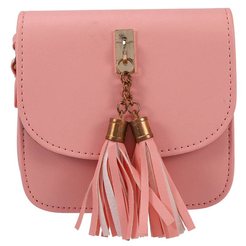 Fashion-Small-Chains-Bag-Women-Candy-Color-Tassel-Messenger-Bags-Female-Han-B2T5 thumbnail 3