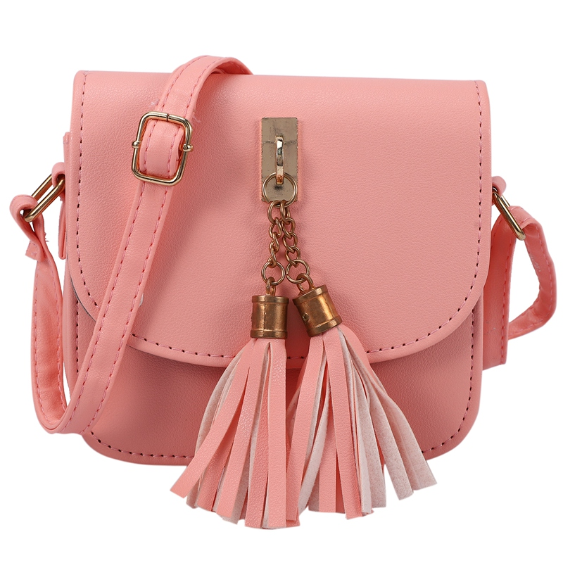 Fashion-Small-Chains-Bag-Women-Candy-Color-Tassel-Messenger-Bags-Female-Han-B2T5 thumbnail 4
