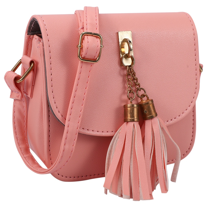 Fashion-Small-Chains-Bag-Women-Candy-Color-Tassel-Messenger-Bags-Female-Han-B2T5 thumbnail 7