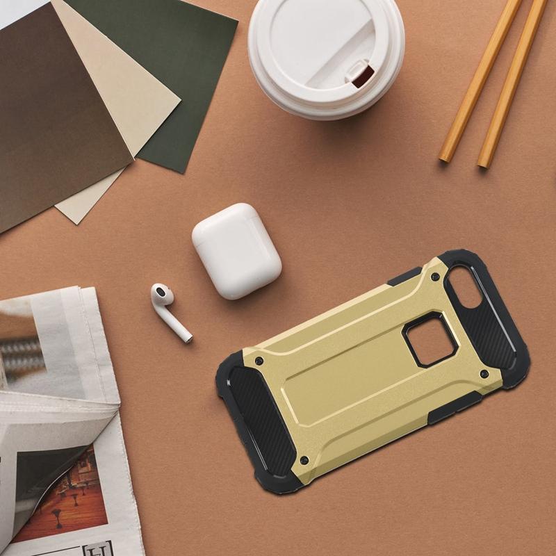 Indexbild 14 - für IPhone 7 Fall StoßDäMpfende Anti-Kratz-Dual-Layer-SchutzhüLle für Den H G4X1
