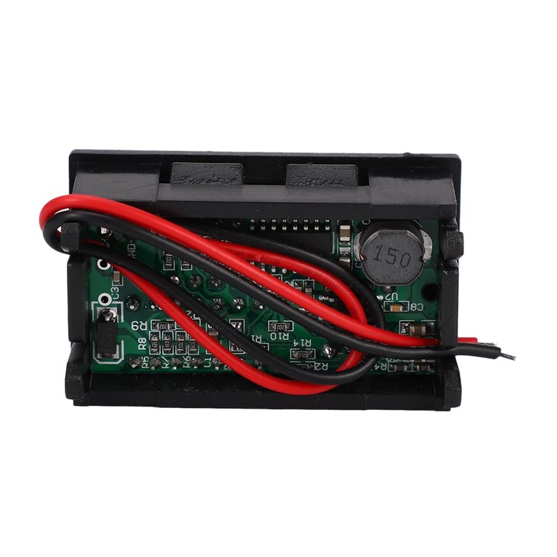 2X-Led-Rojo-Pantalla-Digital-Voltimetro-Mini-Medidor-de-Voltaje-Volt-Tester-Pane miniatura 6